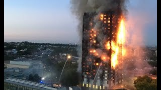 London high rise fire like