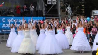 Парад невест в Кушве