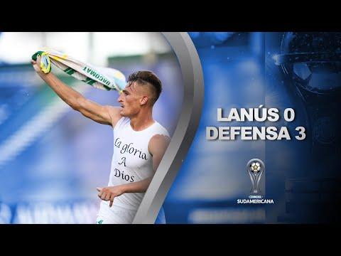 Lanús vs. Defensa y Justicia [0-3] | RESUMEN COMPLETO | DEFENSA CAMPEÓN | CONMEBOL Sudamericana