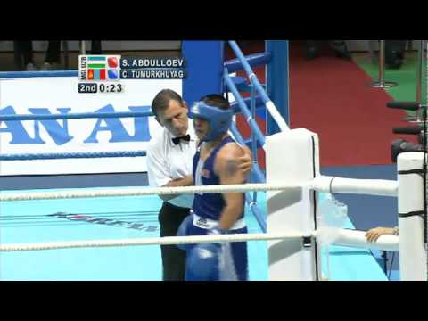 Middleweight Finals  - ASBC Asian Confederation Championships 2011