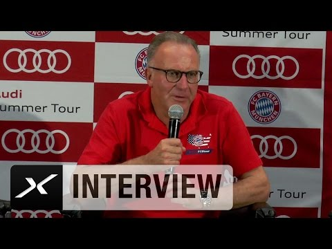 Julian Draxler? Karl-Heinz Rummenigge Rummenigge pflichtet VfL Wolfsburg bei | FC Bayern München