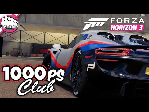 FORZA HORIZON 3 - 1000 PS Club - MULTIPLAYER - Let's Play Fo