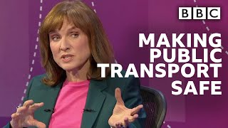 Coronavirus Covid-19: How can we protect people on public transport? | Question Time - BBC