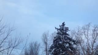 Небесный шум. Екатеринбург 13.01.17