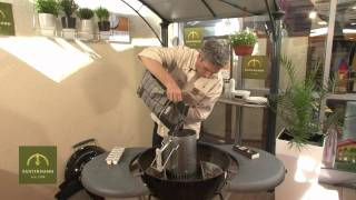 Weber One Touch Deluxe - Holzkohlegrill