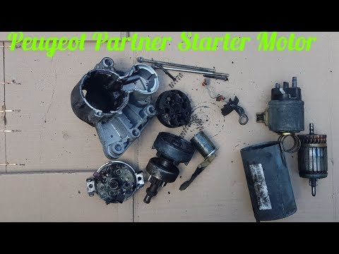 HOW TO FIX PEUGEOT PARTNER STARTER MOTOR (PART – 1) TAKING APART