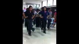 การฝึกเต้นบัดสลบ (ประเทศลาว)