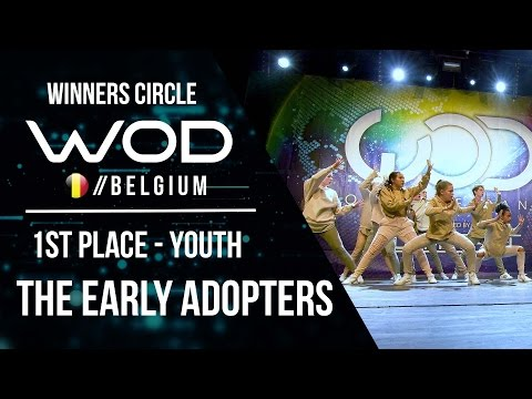 The Early Adopters | 1st Place Youth | Winner Circle | World of Dance Belgium 2017 |  #WODBE17