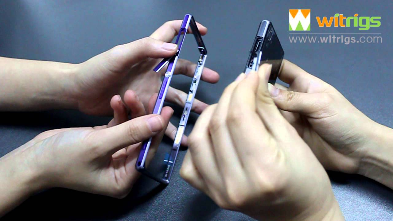 how to replace sony xperia z1 usb cover sim card slot sd. Black Bedroom Furniture Sets. Home Design Ideas