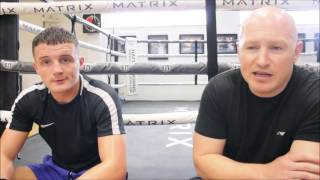 CATCH UP WITH ADAM HAGUE AND MATTHEW HATTON AT RICKY HATTONS GYM IN HYDE