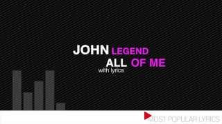 Baixar - John Legend All Of Me With Lyrics Grátis