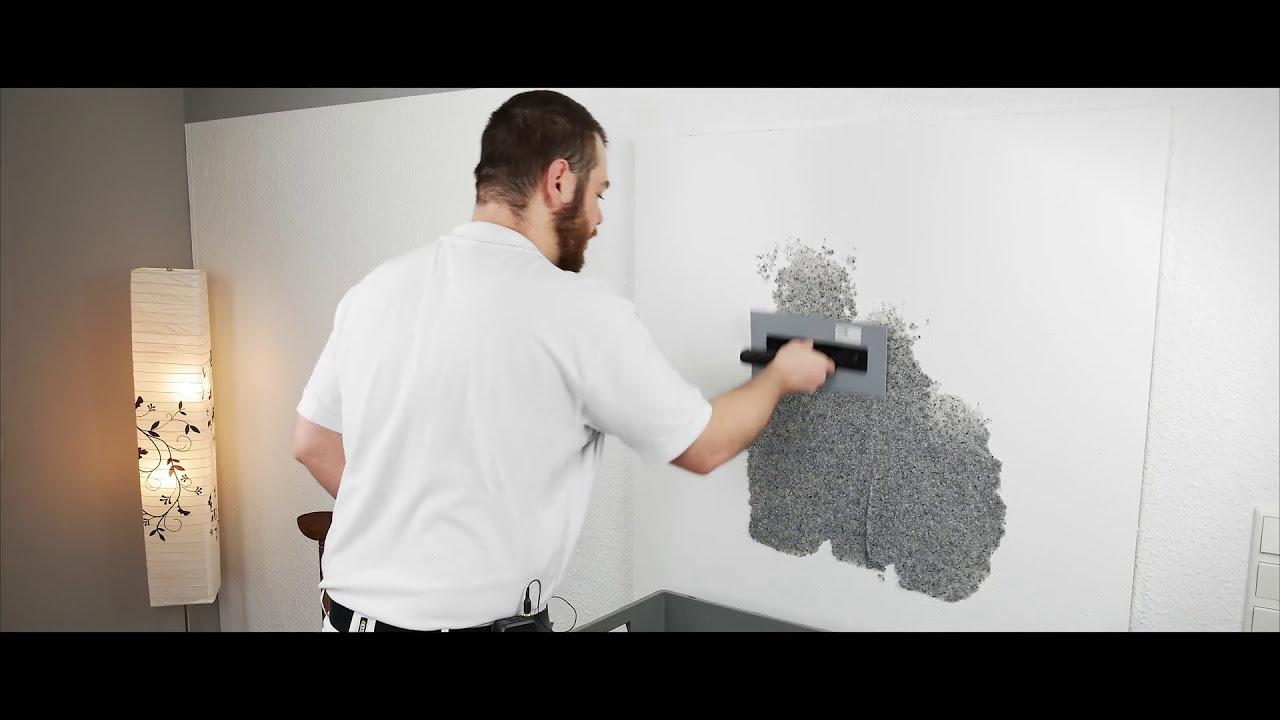 baumwoll-putz und flüssigtapete entfernen/ablösen? - youtube