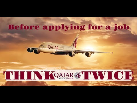Why you should think twice before getting a job in Qatar Air