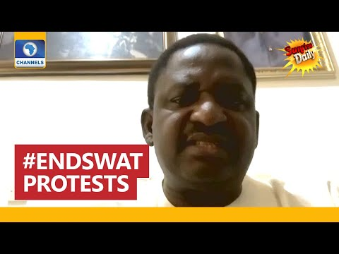Femi Adesina Reacts To Viral 'Doctored Video' On #EndSARS Protests
