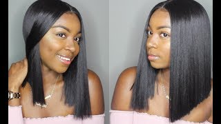 Download $40 Blunt BOB: Bobbi Boss Yara Lace Front Wig | locobeauty.com Mp3 and Videos