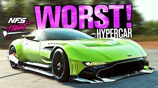 Need for Speed HEAT - The WORST Hypercar?? (Aston Martin Vulcan Customization)