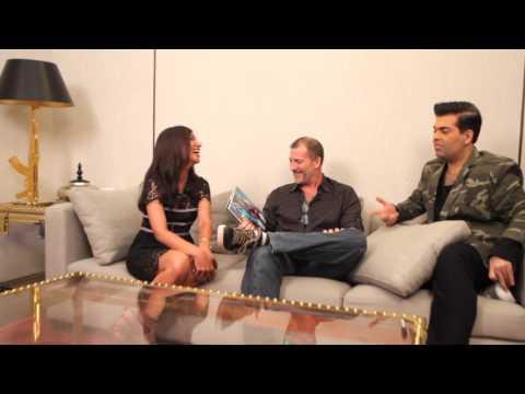 Karan Johar & Mark Bennington | MissMalini Interview | Living The Dream