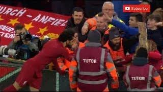 شاهد لفتة إنسانية من محمد صلاح بعد فوز ليفربول