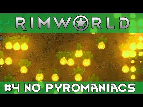 RIMWORLD | #4 - No Pyromaniacs! - New Temperate Forest Biome Base - 30+ Pawn goal.