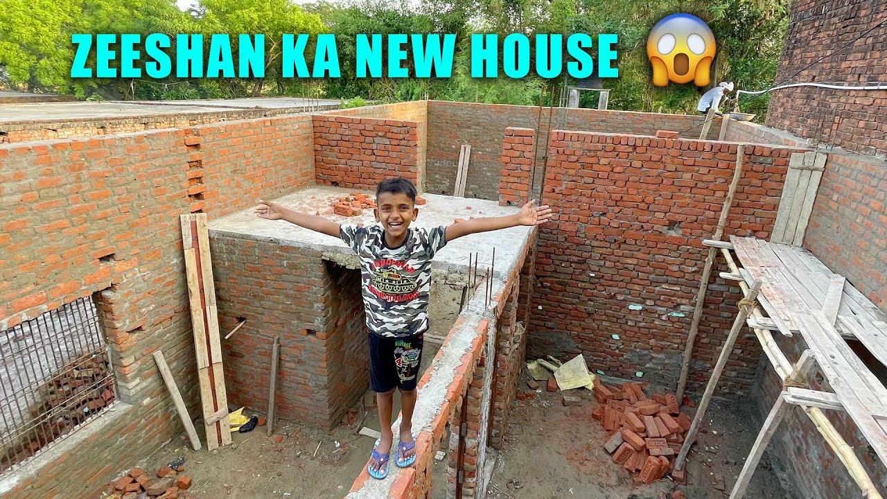 Zeeshan Ka New House 😍 Dream House 😳