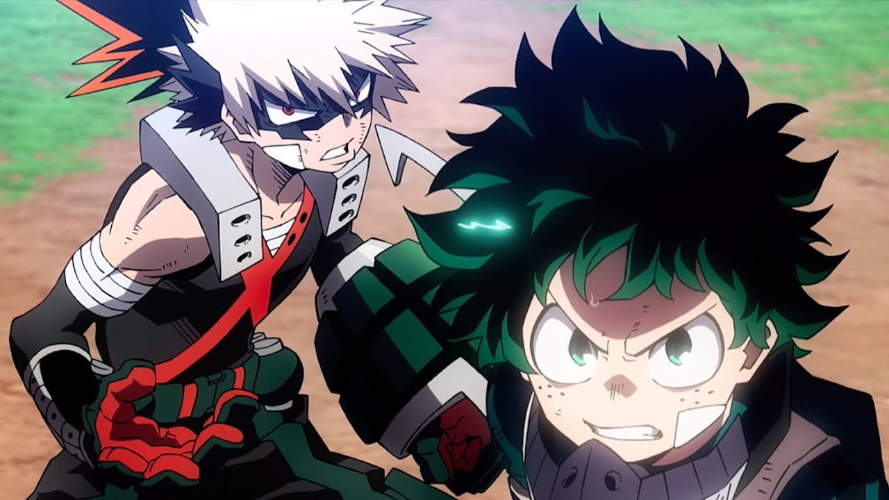 My Hero Academia Heroes Rising Official Teaser Trailer Youtube