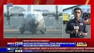 Download Video Bantuan Logistik dari 29 Negara Disimpan di Pangkalan Udara TNI AU Balikpapan MP3 3GP MP4
