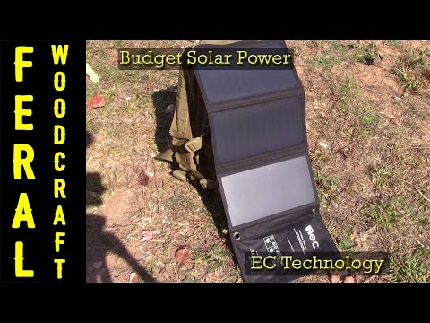 Budget Solar Power - EC Technology 21 Watt Solar Panel