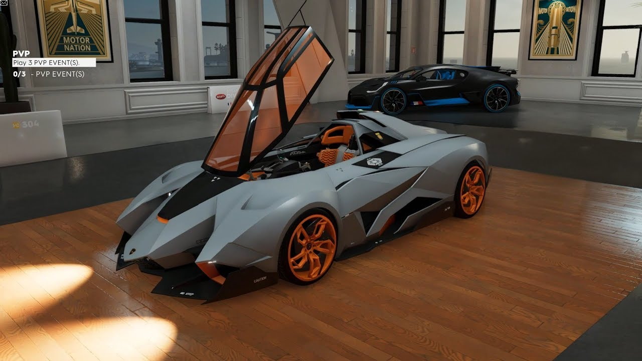 The Crew 2 Lamborghini Egoista Customization Gameplay Hotshots