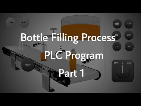Bottle Filling Process PLC Program _ Part 1