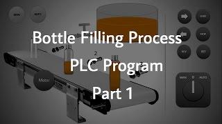 Bottle Filling Process PLC Program _ Part 1 screenshot 2