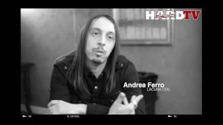 LACUNA COIL •ANDREA FERRO • INTERVIEW (V.O.)