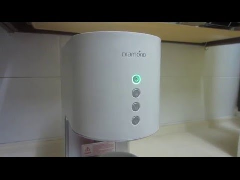 Diamond Coral Water Bar hot water dispenser- Why Cannot Switch On? No Power?