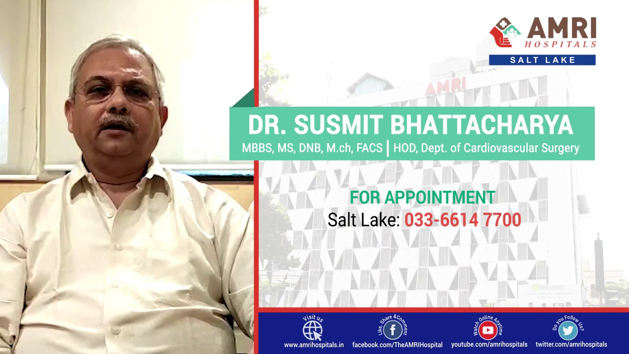 Dr Susmit Bhattacharya from AMRI Hospitals delivers a talk on heart-related issues