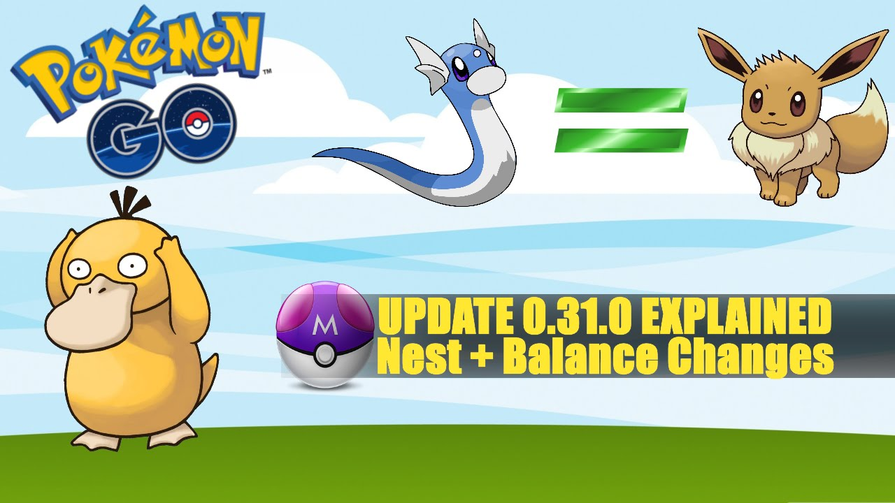 Pokemon Go Major Balance Update Nest Changes No Footprints