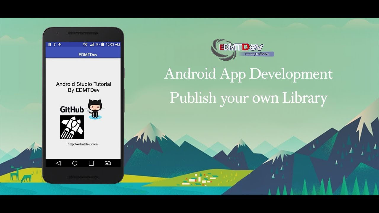 Android Development Tutorial - Publish your own library with JitPack