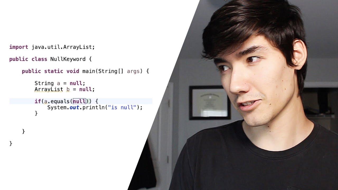 Null Keyword in Java (Tutorial)