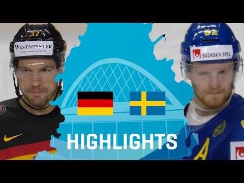 Germany - Sweden | Highlights | #IIHFWorlds 2017