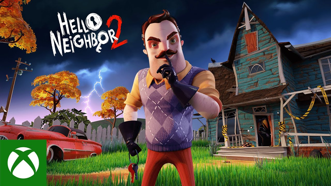 Hello Neighbor 2 - Announcement Trailer