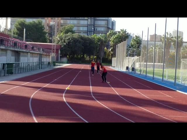Concentración de Relevos de la Selección Española Sub23 y Sub20 en Burjassot