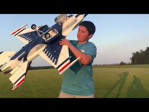 Rc freewing F-16 90mm edf jet from motion rc
