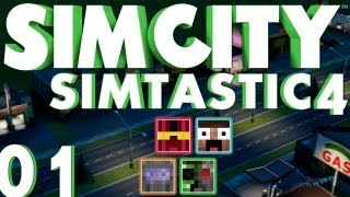 SimCity Multiplayer - Simtastic 4: The 4 Mayors #1