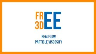 Realflow 2012 - Particle Viscosity