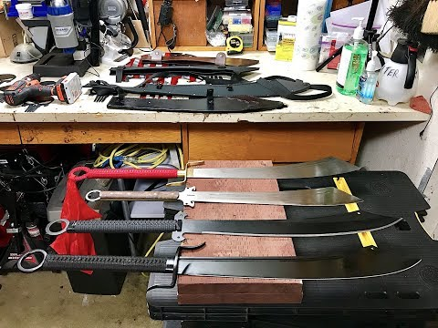 Cold Steel Chinese War Sword, Cold Steel Chinese Machete, Hanwei Dadao Sword, Condor Dadao Sword!
