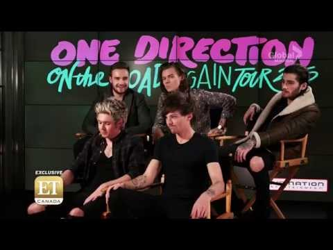 One Direction interview 2015 & Trying to guess each others tweets