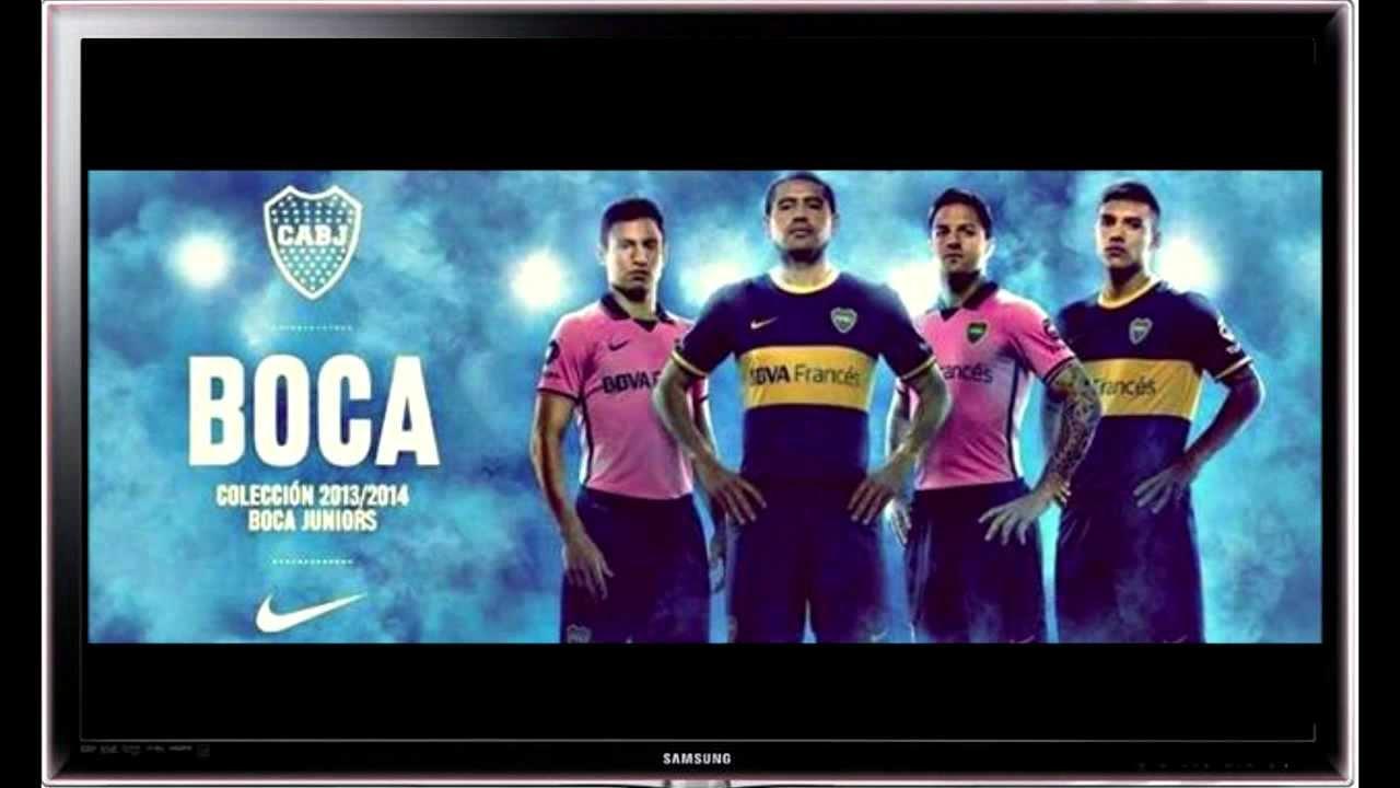 Nueva Camiseta Boca Juniors 2013 - 2014 - YouTube 5161d5b9404a0