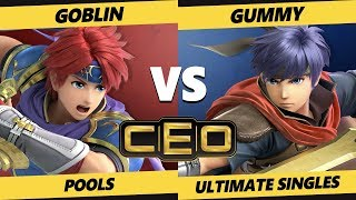 CEO 2019 SSBU - AP | Goblin (Roy) Vs. AZE | Gummy (Ike, Lucina) Smash Ultimate Tournament