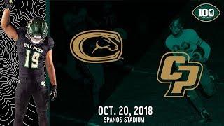 UC Davis vs. Cal Poly Football Highlights -- Oct. 20, 2018