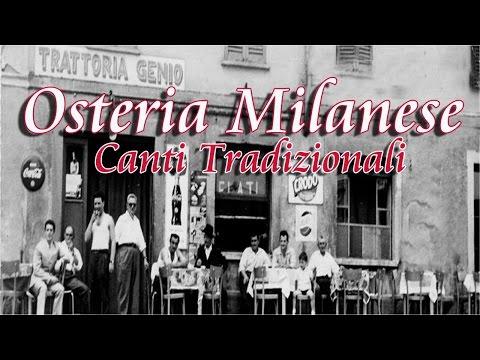 Osteria Milanese | Italian Folk Music: Milan