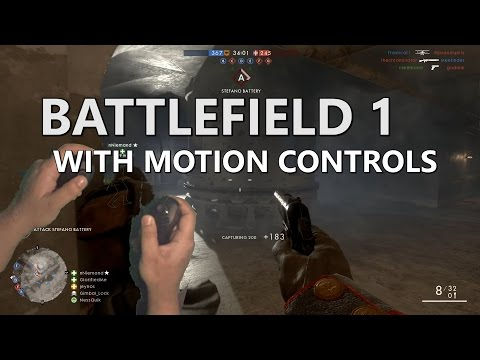 Motion Controlled: Battlefield 1 with the Razer Hydra