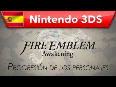 Fire Emblem: Awakening - (Nintendo 3DS) - Progresión de los personajes